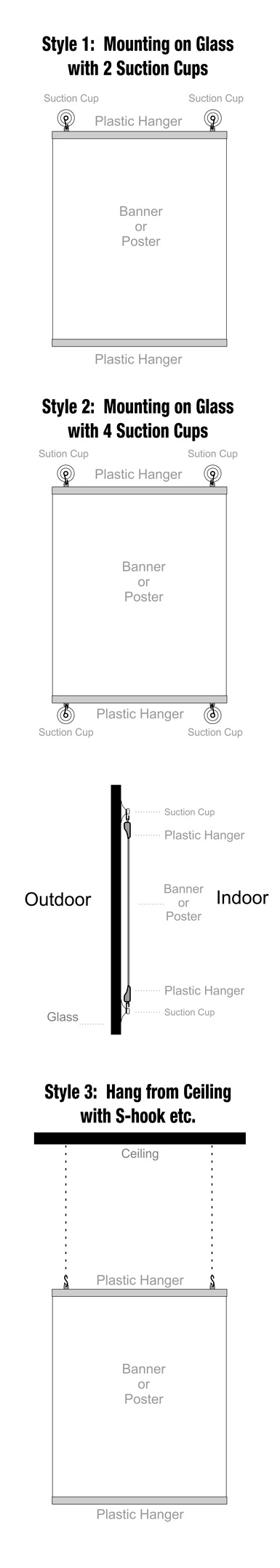 How to Hang Plastic Hanger