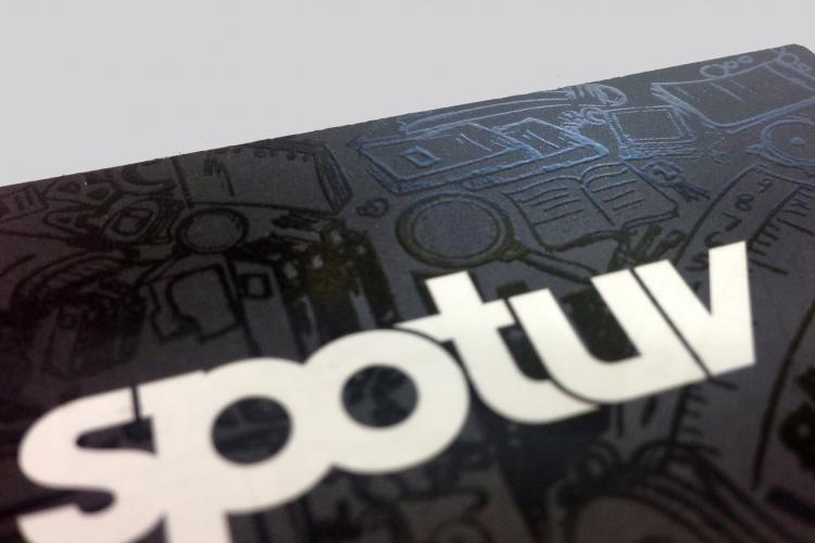 Montreal spot uv business cards printing reheart Gallery