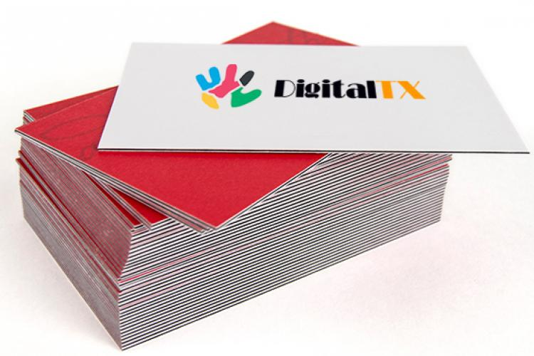 Montreal 38pt 3 layers business cards printing colourmoves